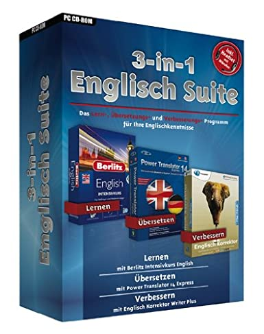 3 In 1 Englisch Suite Amazon De Software