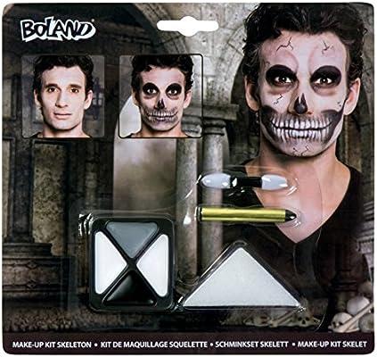 BOLAND Makeup Set Esqueleto (2 unidades, 7 unidades): Amazon.es: Belleza