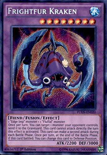 Frightfur Kraken - FUEN-EN020 - Secret Rare - 1st Edition - Fusion - A Kraken