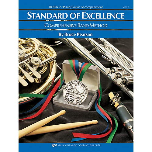 Standard Of Excellence Book 2 Enhanced Piano/Guitar Accomp Pack of 3 ()