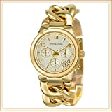 [マイケルコース] MICHAEL KORS 腕時計 シャンパン&ゴールドカラーのチェーンブレスウオッチ MK3131 レディース [並行輸入品]