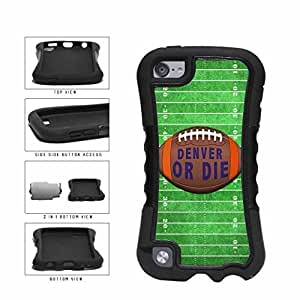 Denver or Die Football Field 2-Piece Dual Layer Phone Case Back Cover Diy For Ipod 2/3/4 Case Cover Generation