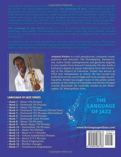 The Language Of Jazz - Book 1 Minor 7th Phrases (New Edition): Minor 7th Phrases (The Language of Jazz Series) (Volume 1) by Jazzology Publications, LLC