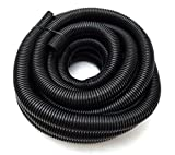 Wire Loom Black 20' Feet 3/4' Split Tubing Hose Cover Auto Home Marine