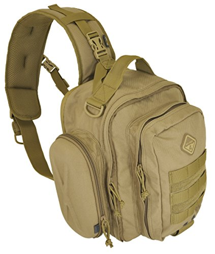 Hazard 4 Evac Holmes Lumbar/Chest Sling with Side Shells, Coyote - Edge Netbook Backpack