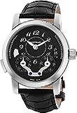 Montblanc Nicolas Rieussec Chronograph Automatic Black Dial Mens Watch 106488