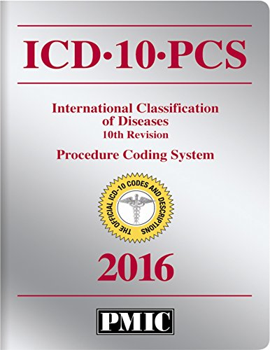 ICD-10-PCS 2016 Official Codes Book