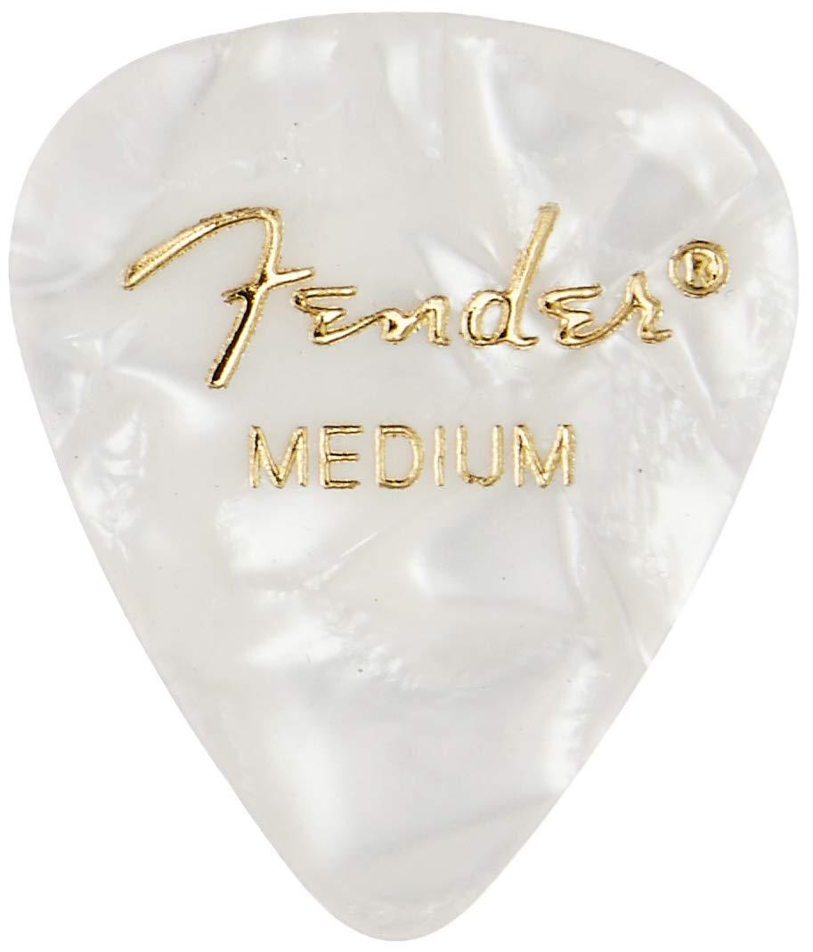 Fender 351 Shape Medium Classic Celluloid Picks 12-Pack