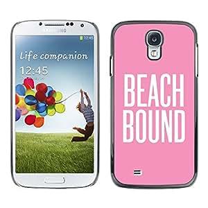 SKCASE Center / Funda Carcasa - Pink Summer texto blanco;;;;;;;; - Samsung Galaxy S4