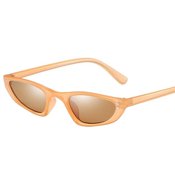 Amazon.com: ♛ HebeTop♛ Gafas de sol de estilo hipster, de ...