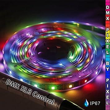 Amazon dmx rgb strip direct dmx 34 pixelm pixel by pixel led dmx rgb strip direct dmx 34 pixelm pixel by pixel led strip mozeypictures Choice Image