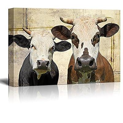 Dairy Farm Friends - Canvas Art