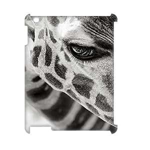 Custom New Case for Ipad 2,3,4 3D, Giraffe Phone Case - HL-R673611