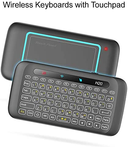 DZSF Control Remoto Universal 2.4G Ratón de Aire retroiluminado con Teclado Grande y Panel táctil para Smart TV Box Mini PC Smart TV (1Pcs): Amazon.es: Deportes y aire libre