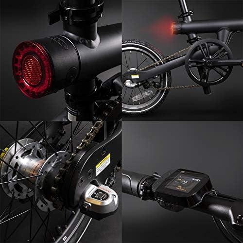 Xiaomi Qicycle - Bicicleta Eléctrica Plegable 250W, Negro