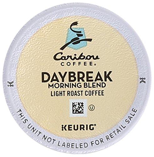 Caribou Coffee DAYBREAK MORNING BLEND 96 K-Cups for Keurig Brewers
