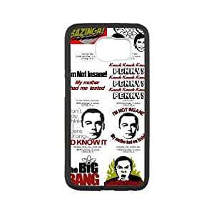Exquisite stylish phone protection shell Samsung Galaxy S6 Cell phone case for The Big Bang Theory pattern personality design