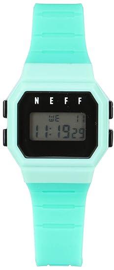 Neff adulto Flava reloj - azul/verde/negro Talla única: Amazon.es: Relojes