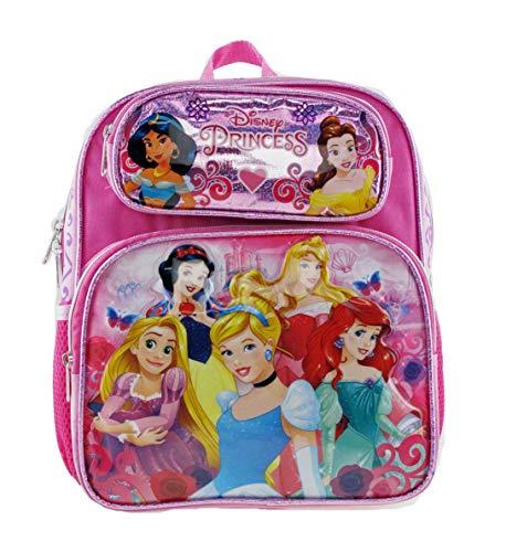 DISNEY PRINCESS - PRINCESS 12inch Toddler Size Backpack - 16255 -