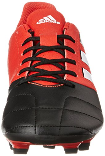 White de Hombre Core 17 Ace Rojo Red fútbol Black Ftwr FxG 4 adidas Botas para 7On8R