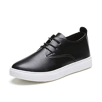 cbe779283c050e Qiusa Chaussures pour Femmes Dames Filles UK 2018 Printemps Été Nouveau  Noir Blanc Mode Marche Femmes