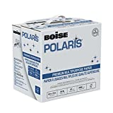 BOISE Polaris Premium Multipurpose Copy Paper, SPLOX (Easy carry box), 8.5 x 11, 97 Bright, 20 lb, Reamless (2,500 Sheets)
