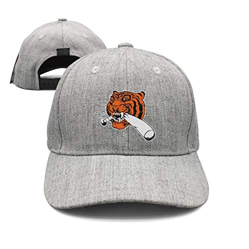 (LuTao Detroit_Funny_Tigers Baseball Unisex Baseball Cap Adjustable Snapback hat Sport Cap)