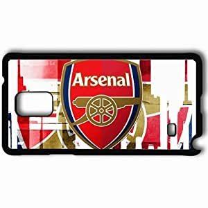 Personalized Samsung Note 4 Cell phone Case/Cover Skin Arsenal Arsenal Football Black