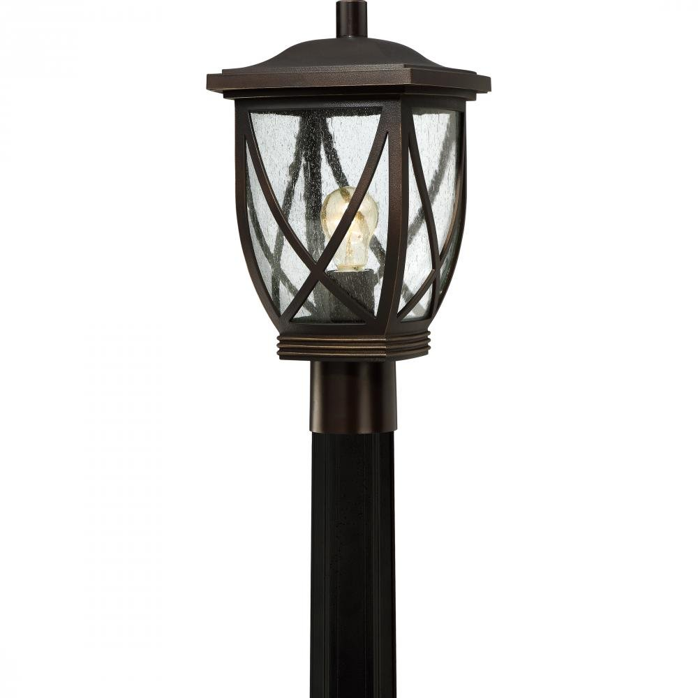 Quoizel TDR9009PN One Light Outdoor Post Lantern