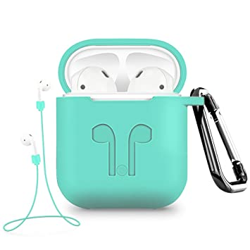 Amazon.com: intlife Airpods funda soporte anti-lost ...