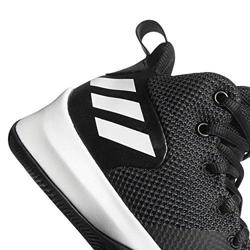 buy popular d7ab5 b3924 ... adidas Explosive Flash K, Zapatillas de Baloncesto Unisex Niño, Negro  (NegbasCarbon