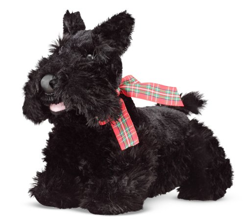 Melissa & Doug 7488 Stuffed Scottie Puppy Doll
