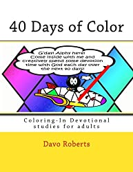 40 Days of Color: Coloring-In Devotional studies for adults (and maybe the kids too!)