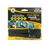 """ROK Straps (14""""-42"""") Adjustable (Black)"""