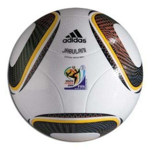 Adidas 2010 du - Balón de fútbol de competición, color blanco/negro, talla DE: 5 E42040