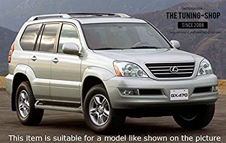 Amazon.com: The Tuning-Shop Ltd For Toyota Land Cruiser J120 Lexus Gxj 120 2003-2009 Automatic Black Leather Shift + Handbrake + Hi-Low Gaiter: Automotive