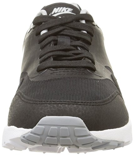 Nike Dame Air Max 1 Ultra Essentials Sort / Sort / Wlf Gry / Mtllc Slvr Kører Sko 8 Kvinder Os wuG3q
