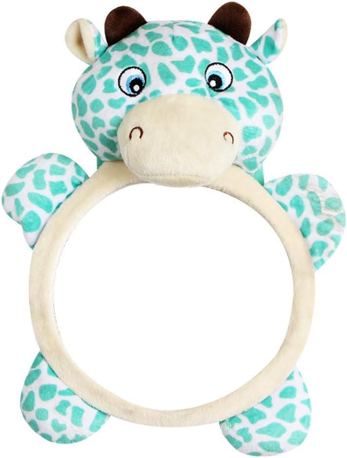 joizo Leopard-Formular Baby-Auto-R/ückansicht R/ückspiegel auf R/ücksitz-Spiegel Kindersicherheit Einstellbare nach vorne Baby-R/ückspiegel f/ür Kleinkind