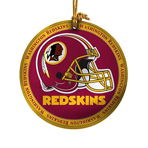 NFL Washington Redskins Ceramic Plate Ornament]()