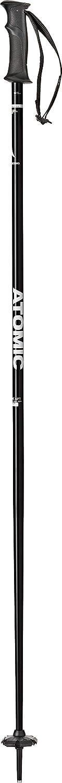 Aluminio Unisex 120 cm Negro//Blanco ATOMIC AMT 1 Par de Bastones de esqu/í All-Mountain
