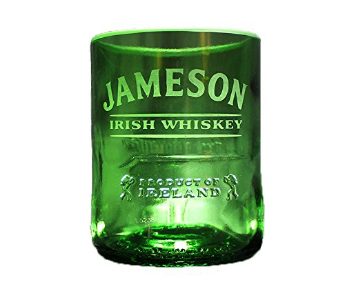 Jameson Irish Whiskey PREMIUM Rocks Glass - Ultimate Gift for Jameson Lover