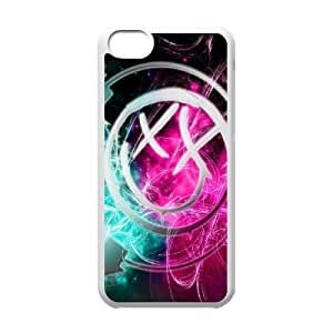FOR Iphone 5c -(DXJ PHONE CASE)-Blink 182 Music Band-PATTERN 20