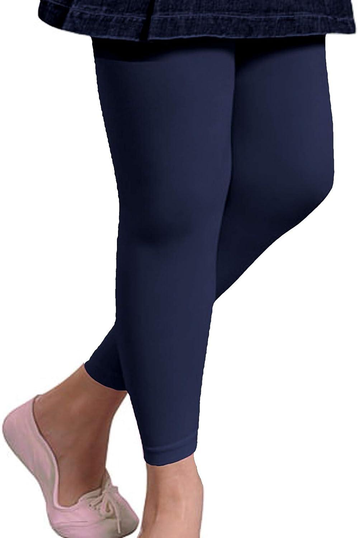 colori assortiti in spugna taglie da 110//116 a 146//152 Good Deal Market 2 leggings termici per bambini o pantaloni termici con interno in morbido pile