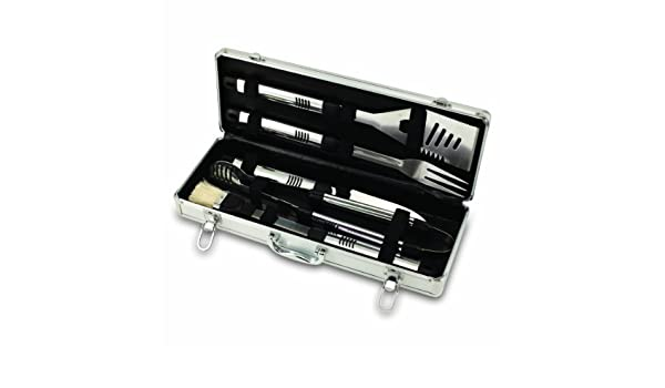 Amazon.com : NCAA Washington Huskies Fiero 5-Piece Tool Set de barbacoa con el caso : Garden & Outdoor