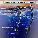 OMGear Snorkel Set Snorkeling Gear Package Diving