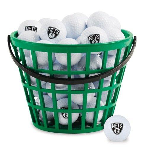 Wincraft NBA Brooklyn Nets Bucket of 36 Golf Balls