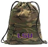 Broad Bay Camo LSU Tigers Cinch Bag Cool Hoody