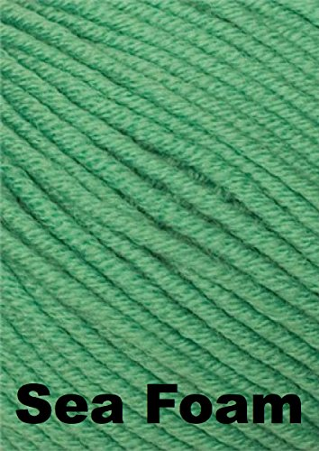 Karabella Aurora 8 Worsted Weight Extra Fine Merino Yarn - Sea Foam