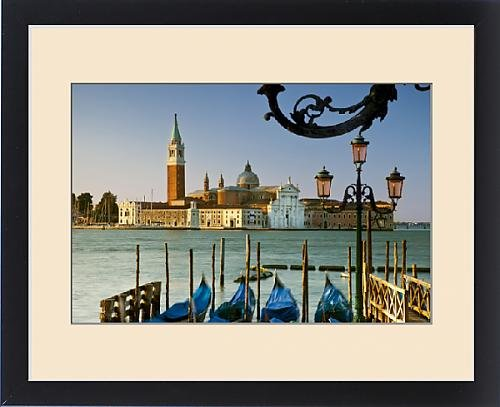Framed Print of San Giorgio Maggiore across the Grand Canal near Piazza San Marco, Venice by Fine Art Storehouse