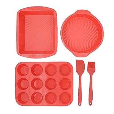 ULee Non-Stick Silicone Bakeware Set